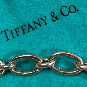 T&Co. 🦋 ONE Sterling Silver Oval Clasping Link #9